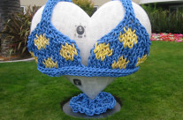 Interview with Yarnbomber Adele Shaw